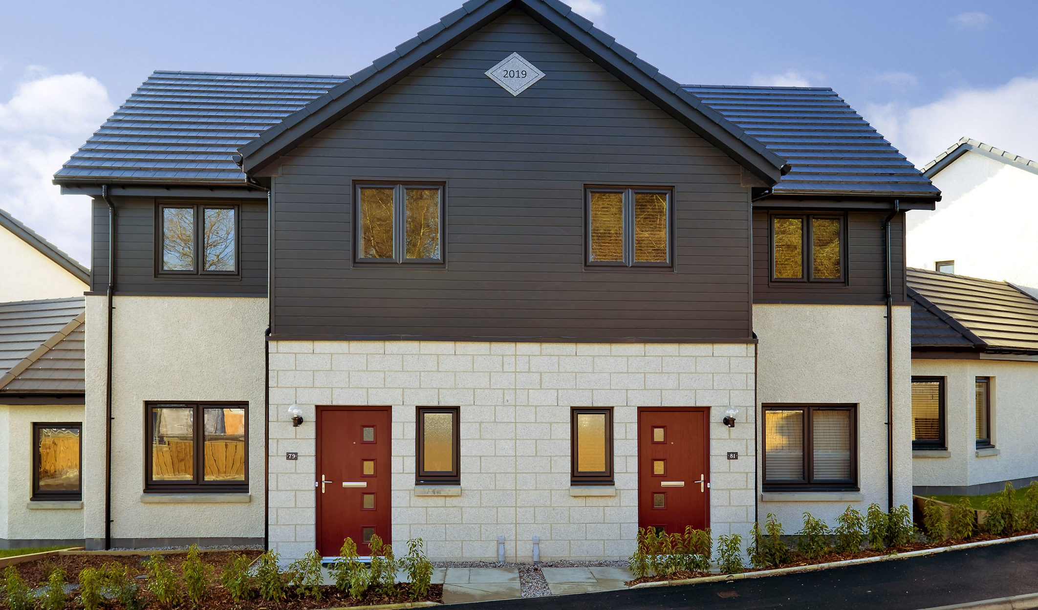 Bancon Homes will build 208 new homes in the west of Aberdeen after obtaining planning approval from the city council.