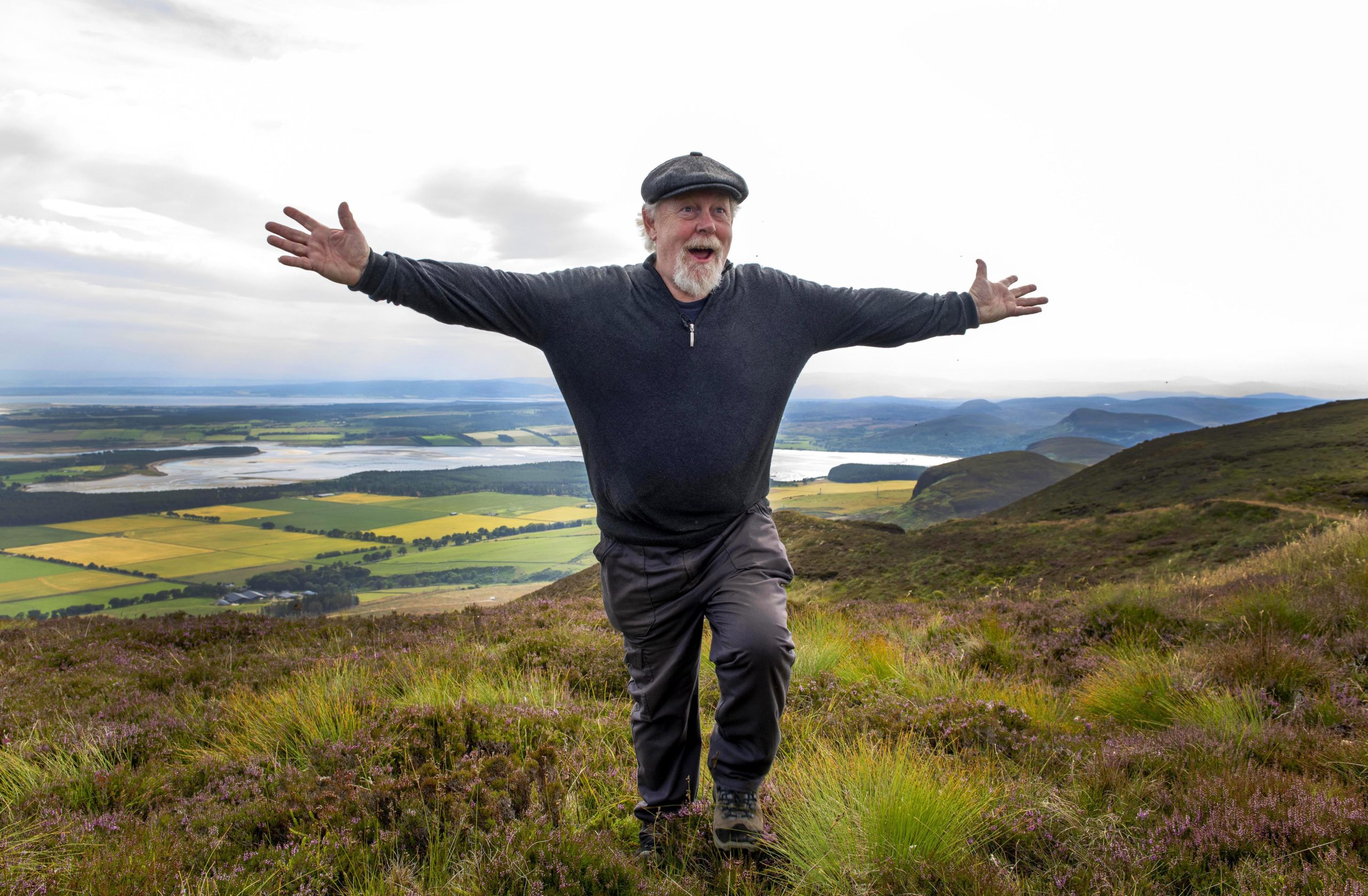 Jimmy Yuill is backing tourism in the Highlands.