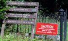 Haughton House Caravan Park, Alford. Picture by Chris Sumner