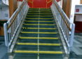 A stairwell at Fraserburgh Academy Pic by....Chris Sumner Taken...............11/08/20.