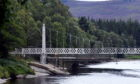 Work has started on the repair of the Cambus O'May bridge in Aberdeenshire. Pictures by Chris Sumner.