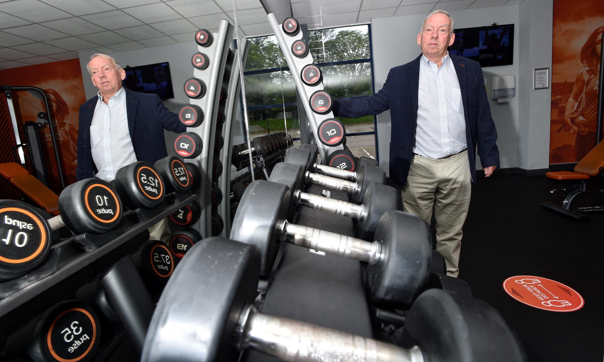Sport Aberdeen chairman Tony Dawson at Get Active @ Jesmond , Bridge of Don, Aberdeen. Picture by Darrell Benns.