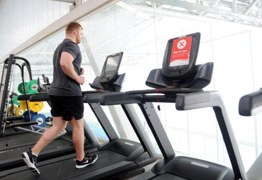 Aberdeenshire sports facilities ready to open next week.