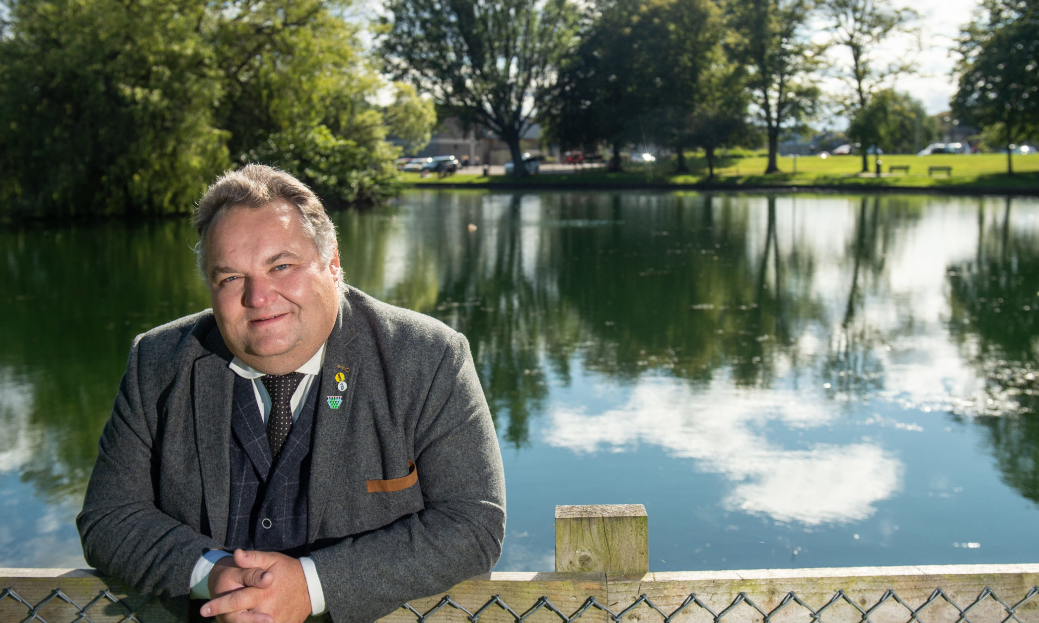 Council leader Graham Leadbitter Picture by Jason Hedges.