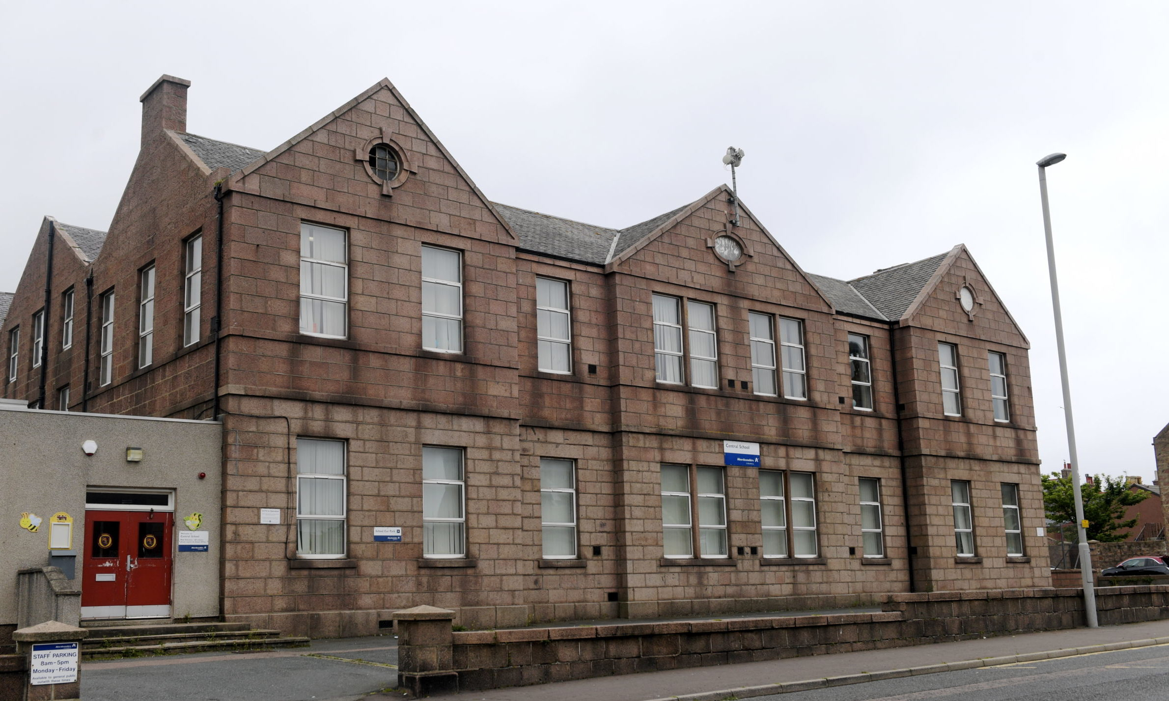 Pupils are to return to Peterhead Central School on Monday