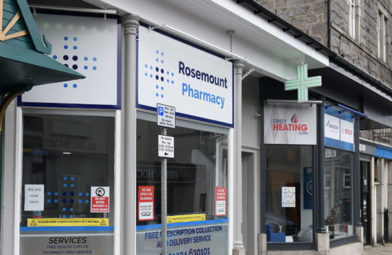 Rosemount Pharmacy is at the centre of concerns over anti-social behaviour