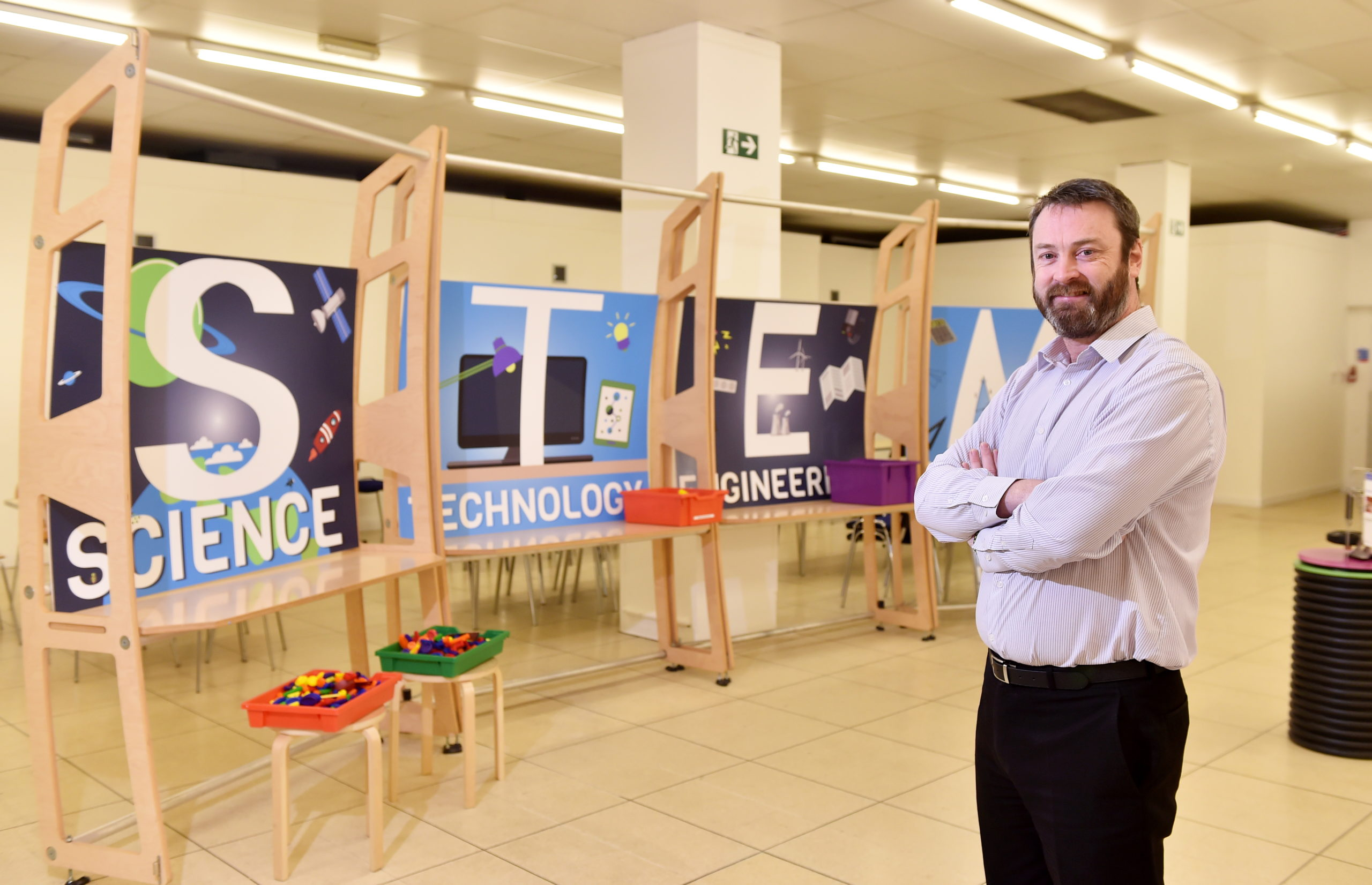 Bryan Snelling, chief executive of Aberdeen Science Centre.  Picture by Scott Baxter