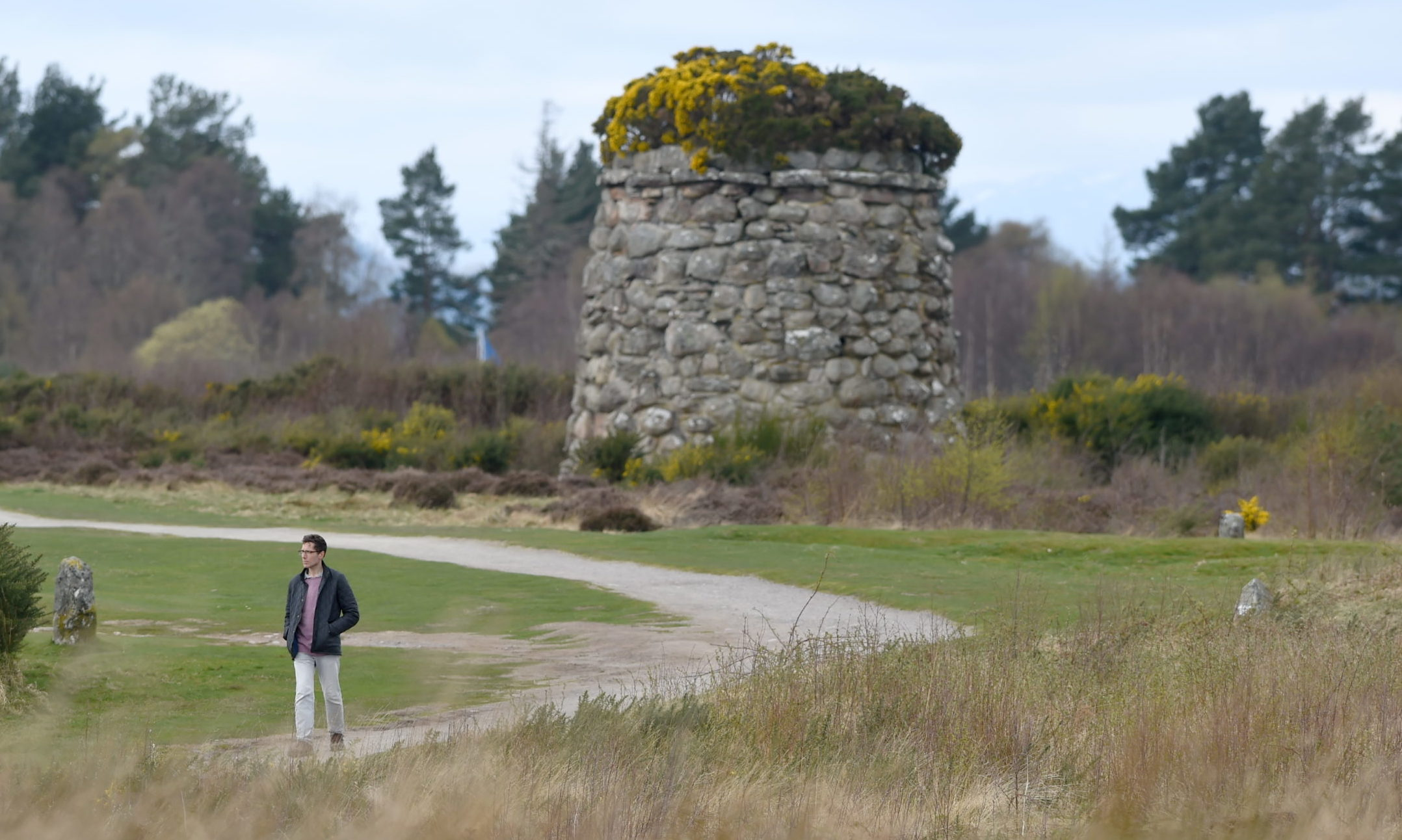 Culloden Battlefield. Picture by Sandy McCook