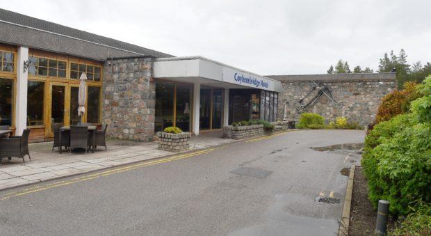 The Coylumbridge Hotel.