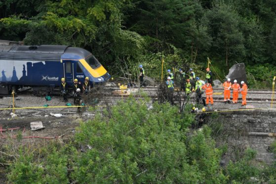 Investigations at scene of Stonehaven train crash to conclude within the week