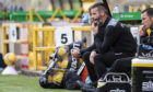 Ross County manager Stuart Kettlewell at Livi.