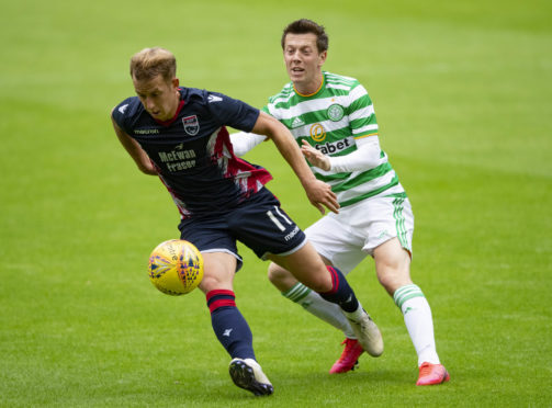 Ross County midfielder Harry Paton