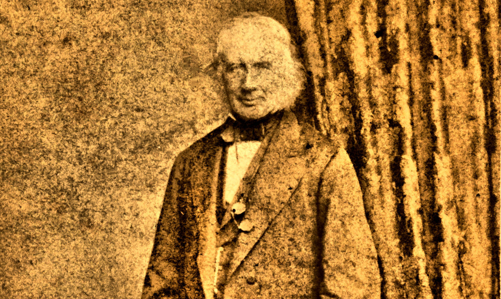 Robert Davidson's family found this sepia-tinted portrait of the Aberdonian inventor, dating from the 1870s, hidden in a drawer.