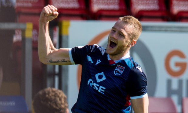 Ross County defender Coll Donaldson.