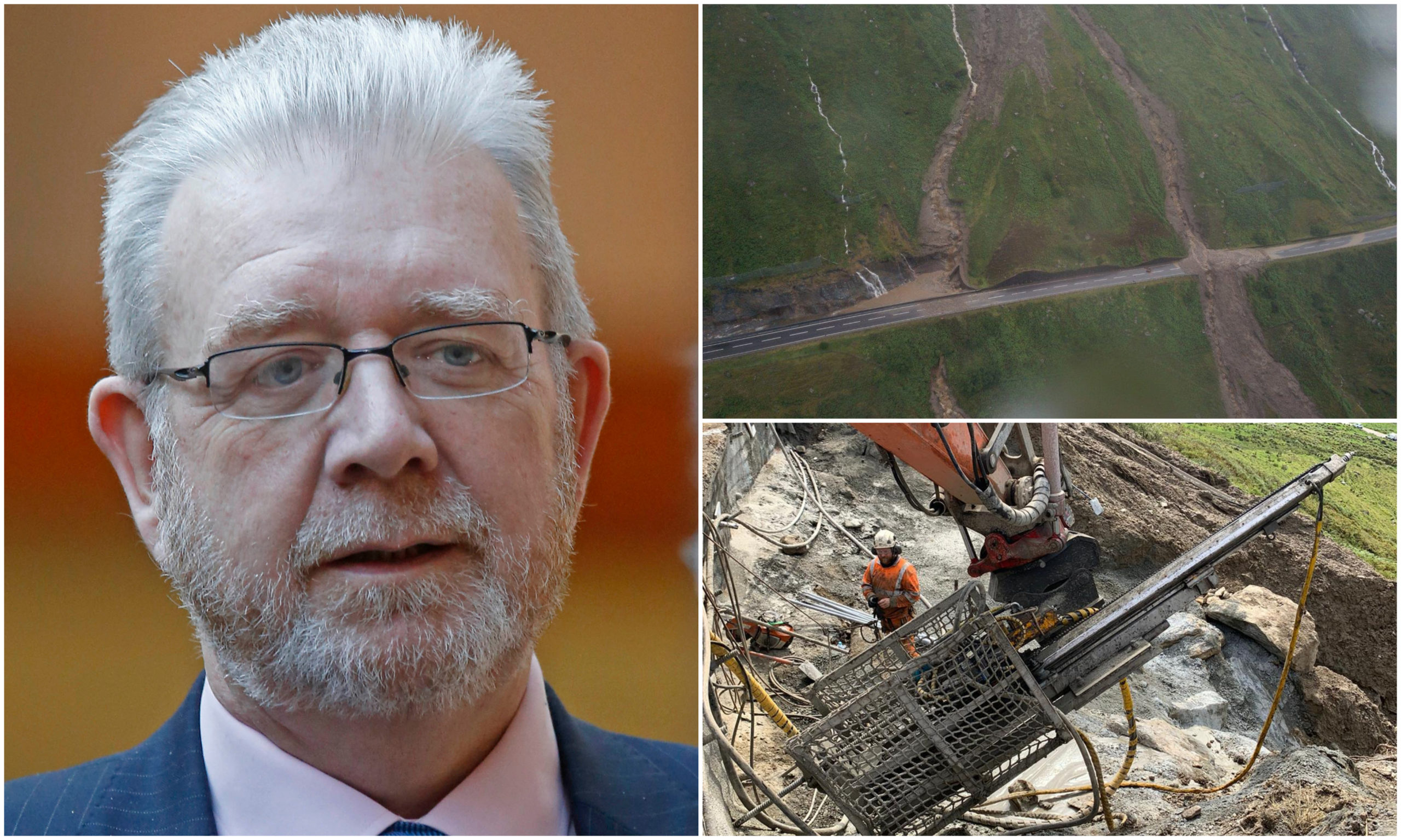 Argyll and Bute MSP Michael Russell has welcomed support to find a solution to address the landslip plagued Rest and Be Thankful