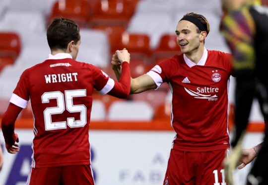 Scott Wright and Ryan Hedges have struck up a promising partnership