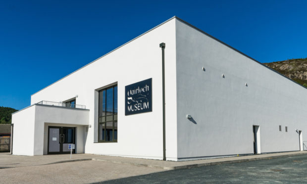 Gairloch Museum will remain closed until February.