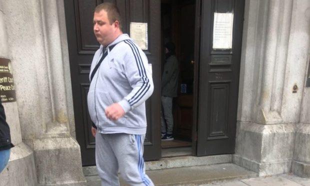 Sergejs Jerasanoks leaving Aberdeen Sheriff Court.
