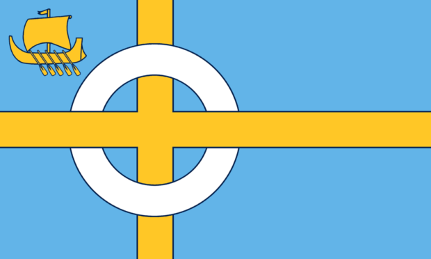 The official flag of Skye