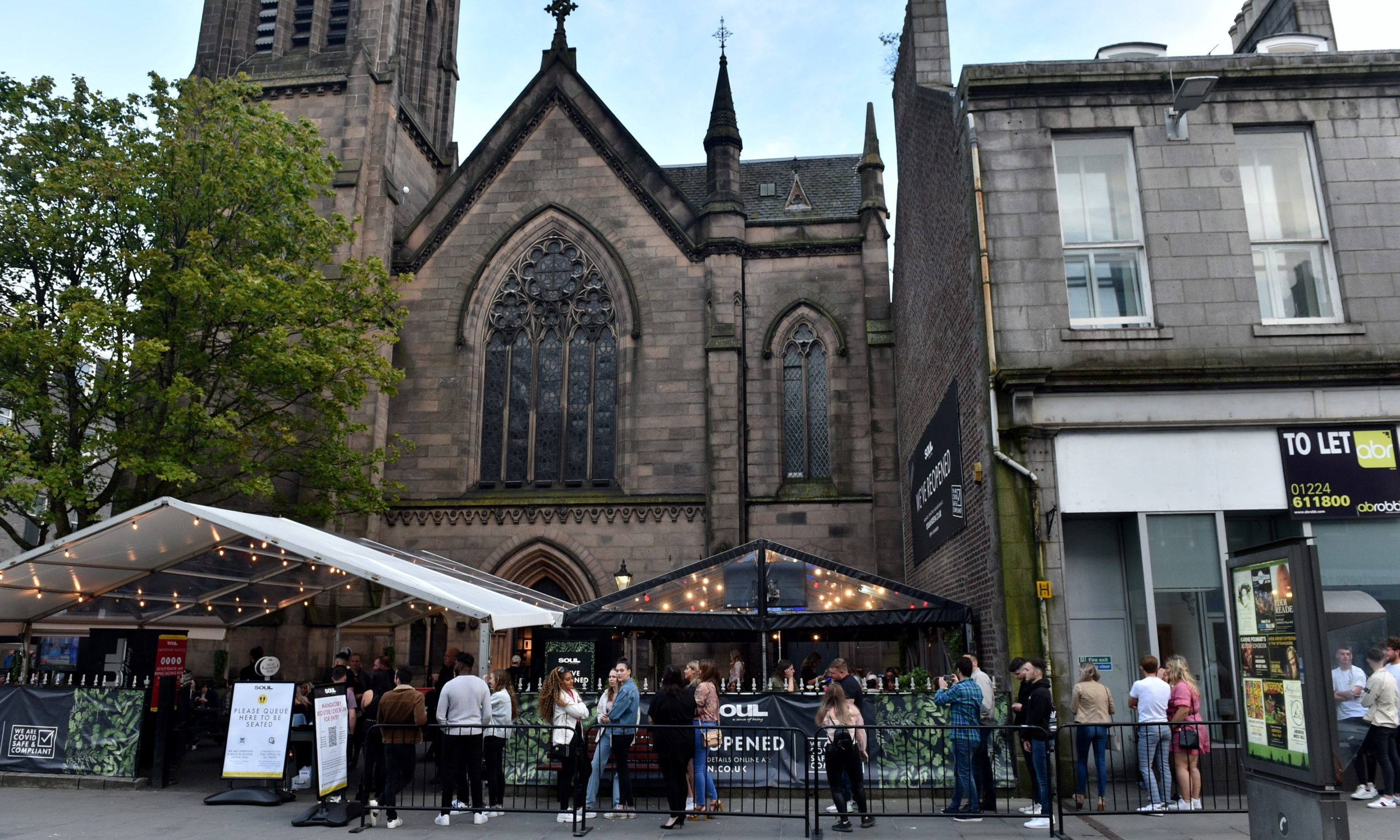 Soul Bar, on Union Street, was one of the bars linked to the Aberdeen outbreak.