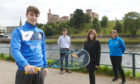 Alasdair Prott (squash player) - Allan McKay (Scottish Squash Head of Coaching and Competitions) - Joyce Hadden (Springfield North Sales Manager) - Ailsa Polworth (Inverness Tennis and Squash Club Manager)