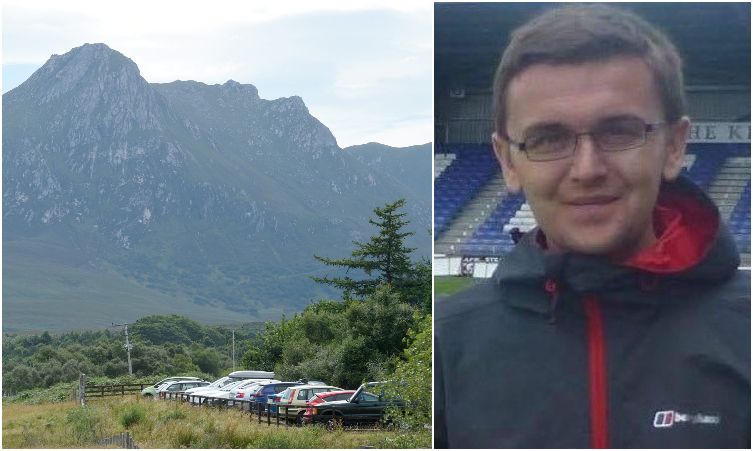 A body was discovered yesterday in the searches for missing Dornoch man Stuart Campbell