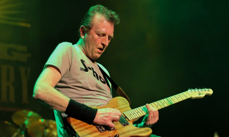 Big Country guitar hero Bruce Watson.