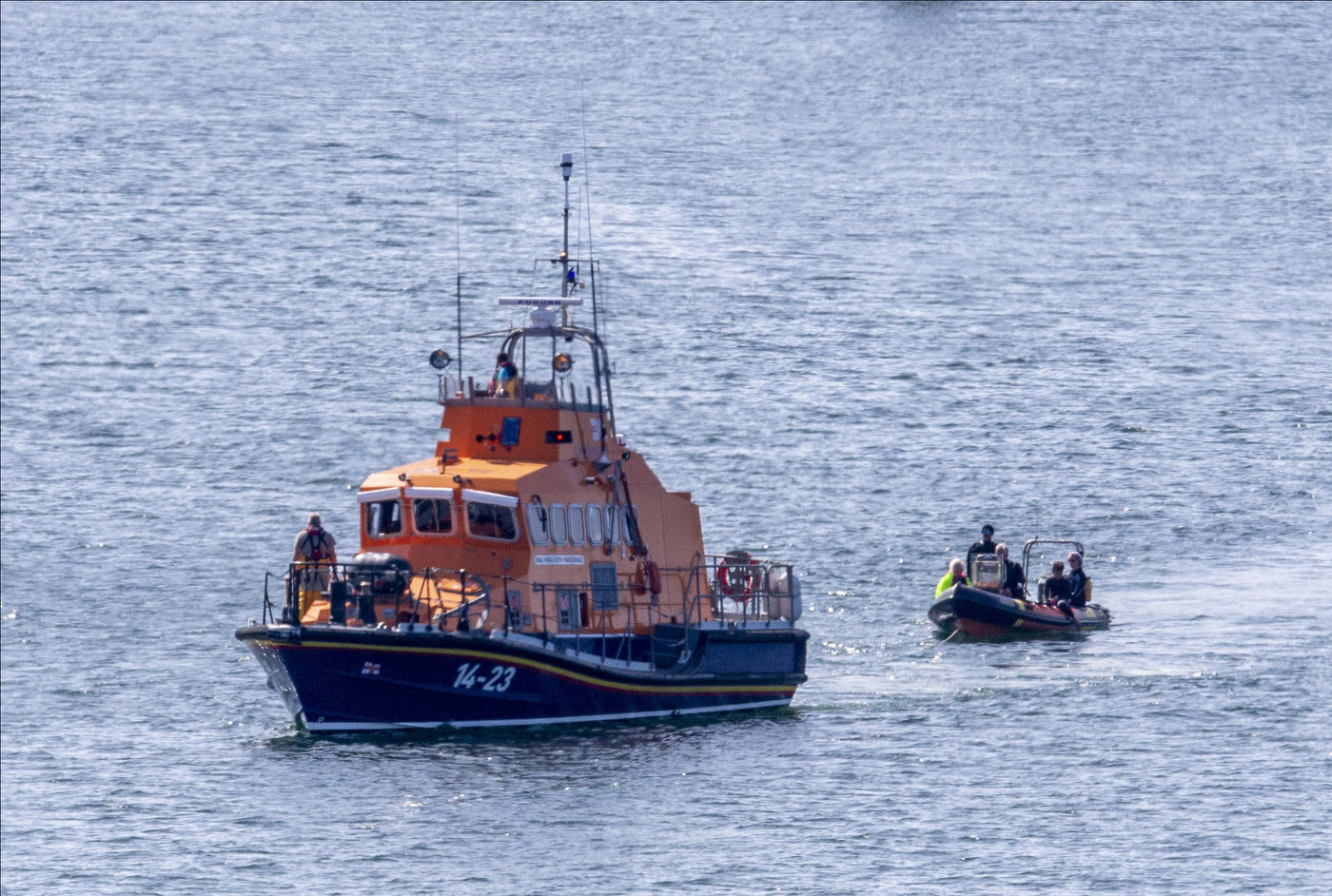 Oban Lifeboat attended three incidents following a busy weekend.
