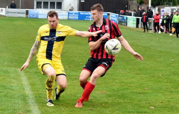 Craig Gunn (left) is one of eight Wick Academy players to sign new deals
