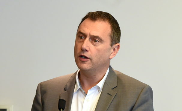 Russell Borthwick, chief executive of Aberdeen and Grampian Chamber of Commerce