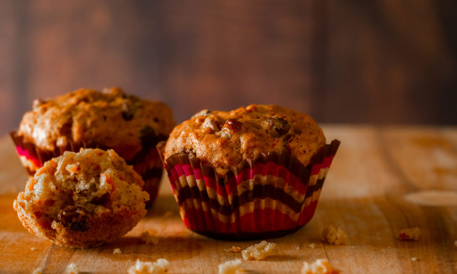 Brunch Box: Start the day the proper way with these chantenay and raisin breakfast muffins | Press and Journal