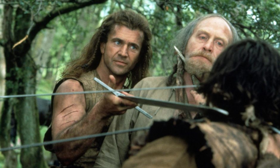 Scots actor James Cosmo loved filming Braveheart with Mel Gibson.