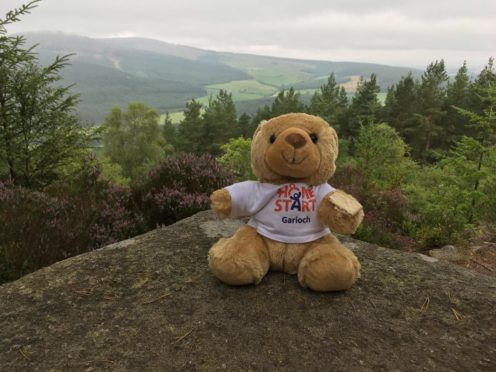 Teddy has joined Charlie McCorry on every ascent of Milestone Hill.
