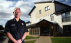 Martin Tait, the fire service's local senior officer for Moray and Aberdeenshire.