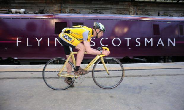 Scots cyclist Graeme Obree.