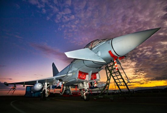 Typhoon pilots will be training for night flying until September 17