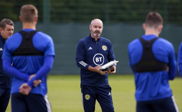 Scotland national team boss Steve Clarke