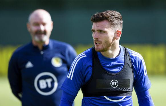 Scotland captain Andy Robertson