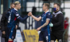 Oli Shaw replaces Billy Mckay for Ross County.