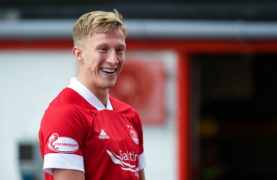 Dons midfielder McCrorie called up to Scotland squad