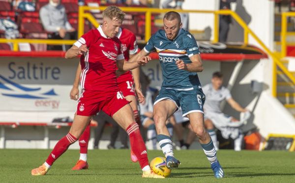 Allan Campbell is wanted by the Dons