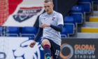 New Ross County striker Michael O'Connor.