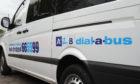Aberdeenshire Council's A2B dial-a-bus service.