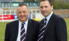 Jimmy Calderwood (left) and Scott Calderwood during their time at Ross County.