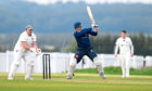 Jan Stander, of Stoneywood, batting. Picture by Scott Baxter