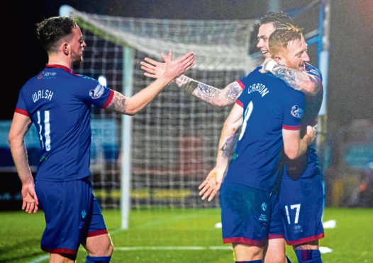 Caley Thistle's players are preparing for the new season.