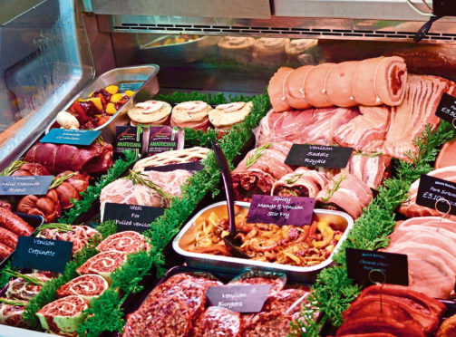 The scheme aims to promote the short supply chain of venison from stalker to butcher.