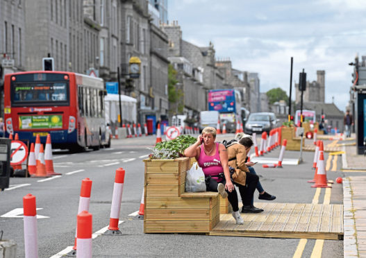 Union Street in August 2020.  Picture by Kath Flannery