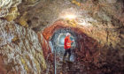 HEEPKT Scotgold chief executive Richard Gray pictured in the Scotgold Resources Cononish mine near Tyndrum, Scotland