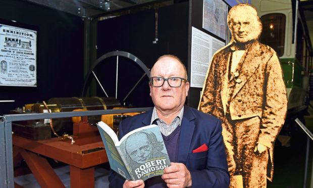 Stuart Scorgie, the great-great grandson of Robert Davidson